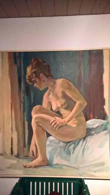 Erotikbild von Alfred Gass 8o x 100cm