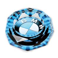 BMW Auto Glas Aschenbecher Liebhaber Fan Shop Geschenk Raucher Neuheit