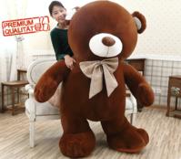 Gigantischer Teddybär XXL Plüschbär Plüsch Teddy Bär 210cm 3 Farben Premium Bärenfell Geschenk Weihnachten Kinder Freundin Neuware