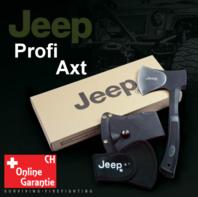 Jeep Axt Beil Outdoor Fan Survival Camping Wildnis mit Nylonhülle und Gurtschlaufe