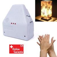 Klatschschalter Klatsch Akustik Schalter Lampen Lampe Elektro bis 2 Geräte bekannt aus der TV Werbung